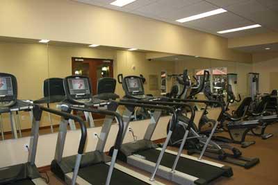 Asturias Senior Apartments gym view
