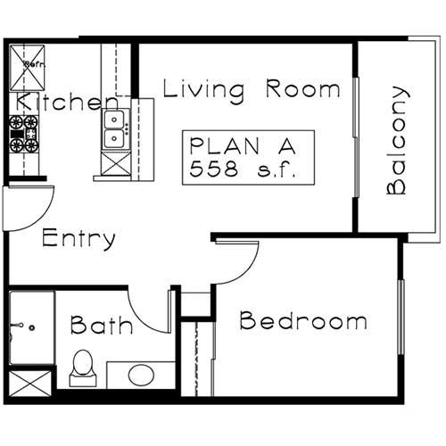 plan A floor plan